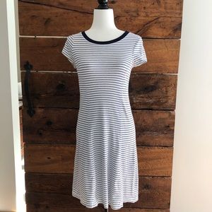 Three Dots | Gene Stripe Tee Dress